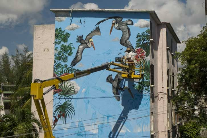 Proyecto panorama usando plataformas de elevación Hemoeco Cancún